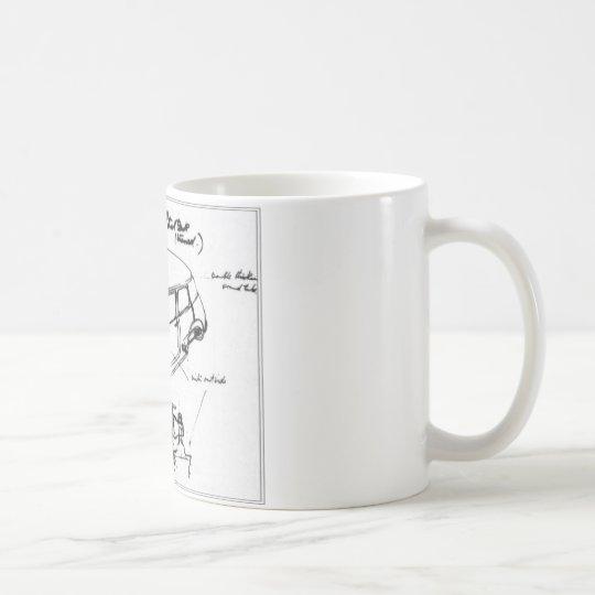 taza mini esbozo clásico