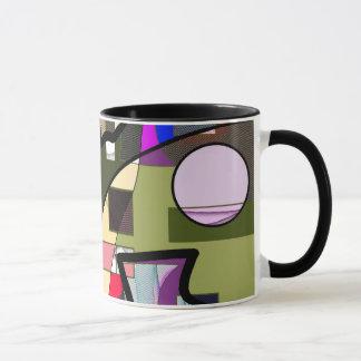 Taza Taza moderna geométrica abstracta
