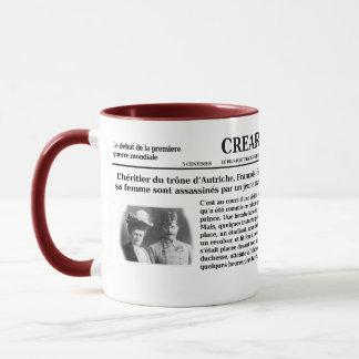 Taza mondiale del guerre de mug debut de la 1ere