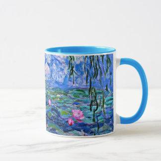 Taza Monet: Lirios de agua 1919