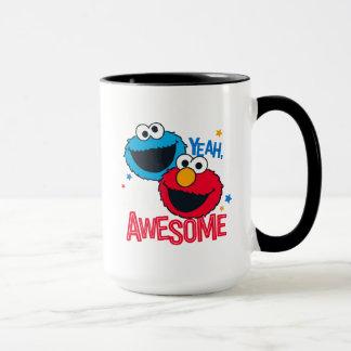 Taza Monstruo y Elmo de la galleta el | sí, soy