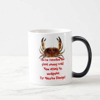 Taza Morphing del cangrejo enemigo gigante