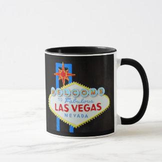 Taza Muestra de la tira de Las Vegas