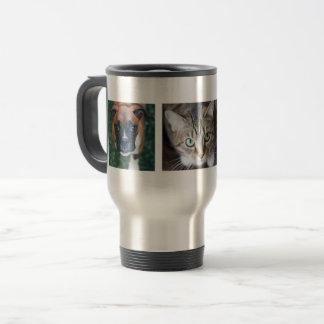 Taza múltiple personalizada del viaje de la foto
