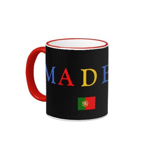 Taza negra de Madeira*