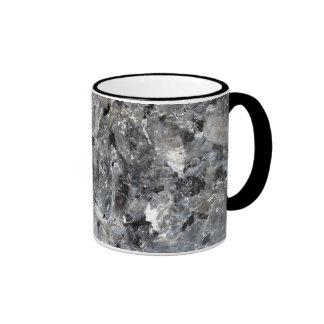 taza negra del granito de la belleza