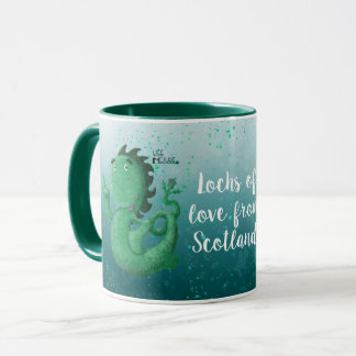 Taza Nessie, lagos del amor de Escocia