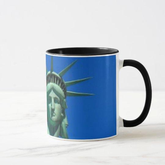 Taza Nueva York, estatua de la libertad