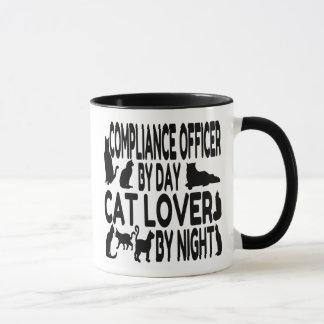 Taza Oficial de la conformidad del amante del gato
