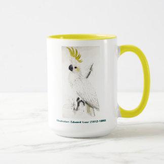 Taza Pájaro de Edward Lear menos Cockatoo con cresta