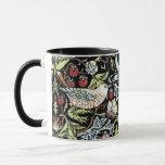 Taza Pájaros y flores 2 de William Morris