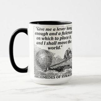 Taza Palanca de Arquímedes
