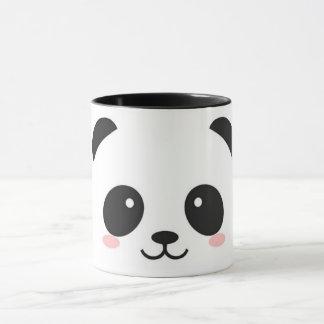 Taza Panda feliz linda de la cara