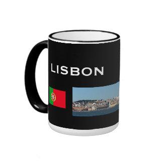 Taza panorámica de Lisboa Portugal