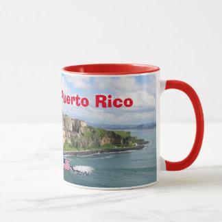 Taza panorámica de San Juan Puerto Rico