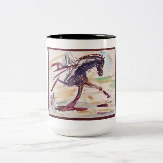 Taza para los amantes del caballo