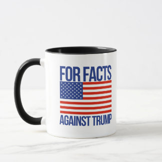 Taza Para los hechos contra el triunfo - -