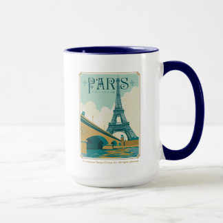 Taza París Francia - torre Eiffel