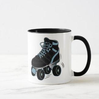 Taza Patín de ruedas en negro
