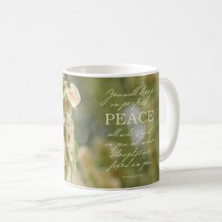 Taza perfecta de la paz