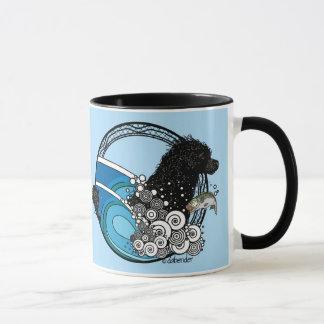 Taza Perro de agua Nouveau