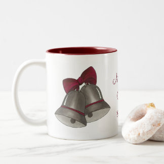 Taza personalizada de Bell de boda de Belces de