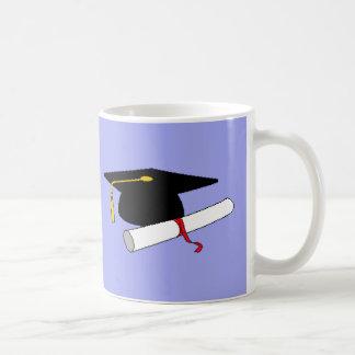 Taza personalizada de la graduación