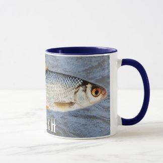 Taza Pescados de agua dulce de la cucaracha, con imagen