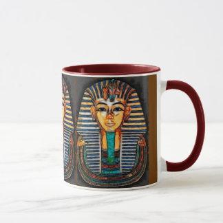 Taza Pharaoh egipcio antiguo Tutankhamen
