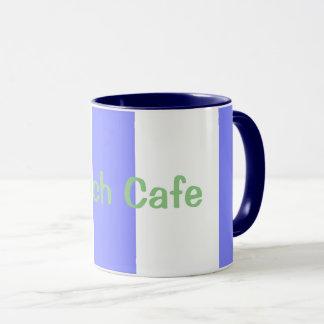 Taza Playa-Café--Cabaña-Rayas (c) Arándano-Blancas