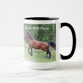 "Taza ""Poder en caballo salvaje   de Alberta del"