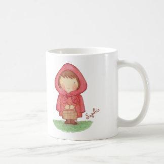 Taza popular del cuento del Caperucita Rojo lindo