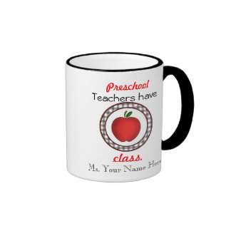 Taza preescolar del profesor - los profesores tien