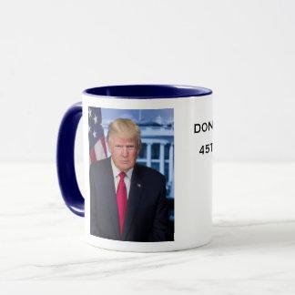 Taza presidencial de Donald Trump