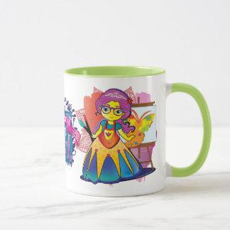Taza ¡Princesa Mug del arte!