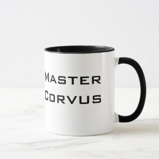 Taza principal del Corvus