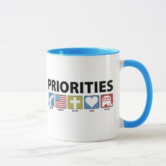 Taza Prioridades del GOP