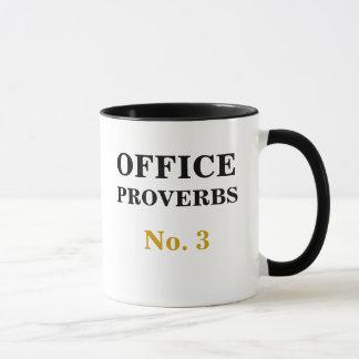 Taza Proverbios número 3 de la oficina - pronósticos