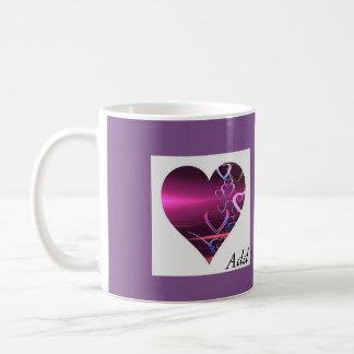 Taza Purple Heart del personalizar
