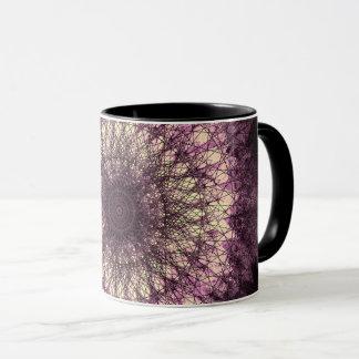 Taza Purple Mandala