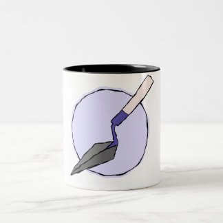 Taza púrpura de la paleta - equipo de la