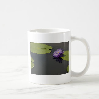 Taza púrpura de Waterlily