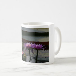 Taza púrpura de Waterlily Lotus