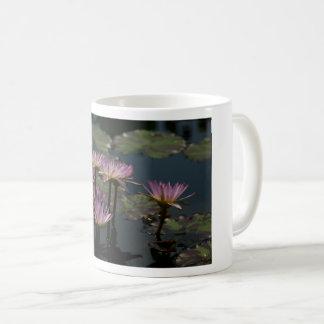 Taza púrpura de Waterlily Waterlilies Lotus