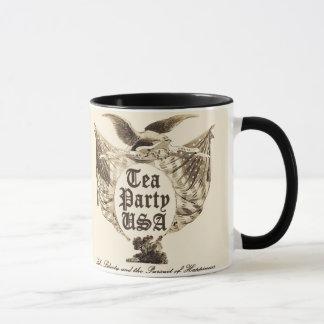 Taza Rebelión de la fiesta del té de los E.E.U.U.