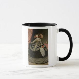 Taza Reina Maria Ana de Austria, C. 1652