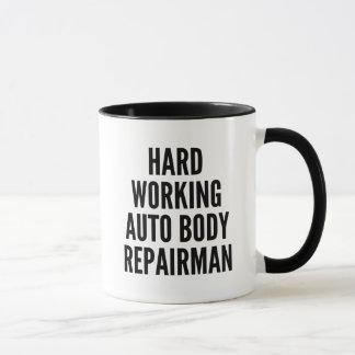 Taza Reparador auto de trabajo duro del cuerpo