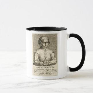 Taza Retrato de la placa 3 de Hieronymus Bosch