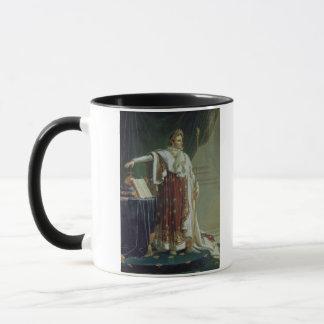 Taza Retrato de Napoleon I en sus trajes de la
