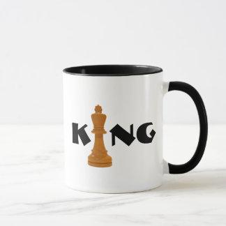 Taza rey del ajedrez